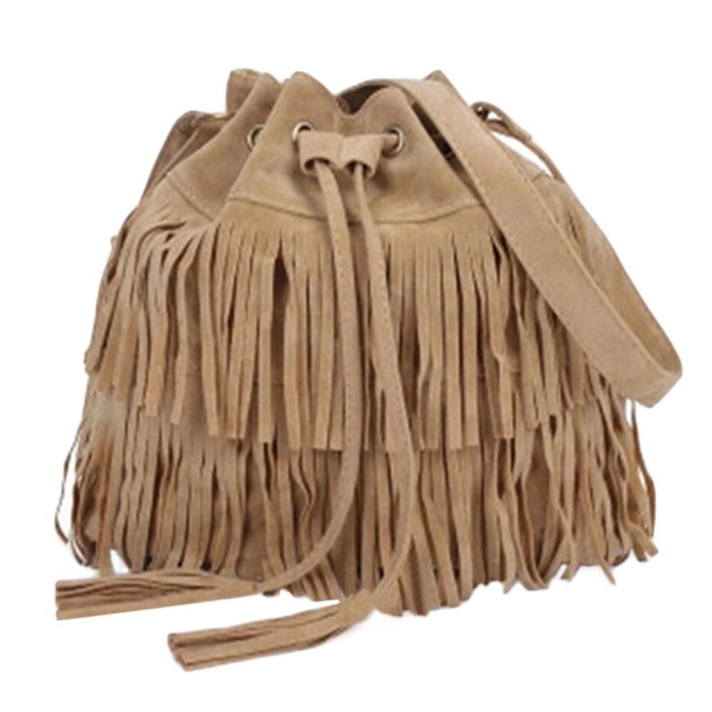 New-Women-039-s-Fringe-Messenger-Shoulder-Tassel-Handbag-Ladies-Crossbody-Bag-Purse