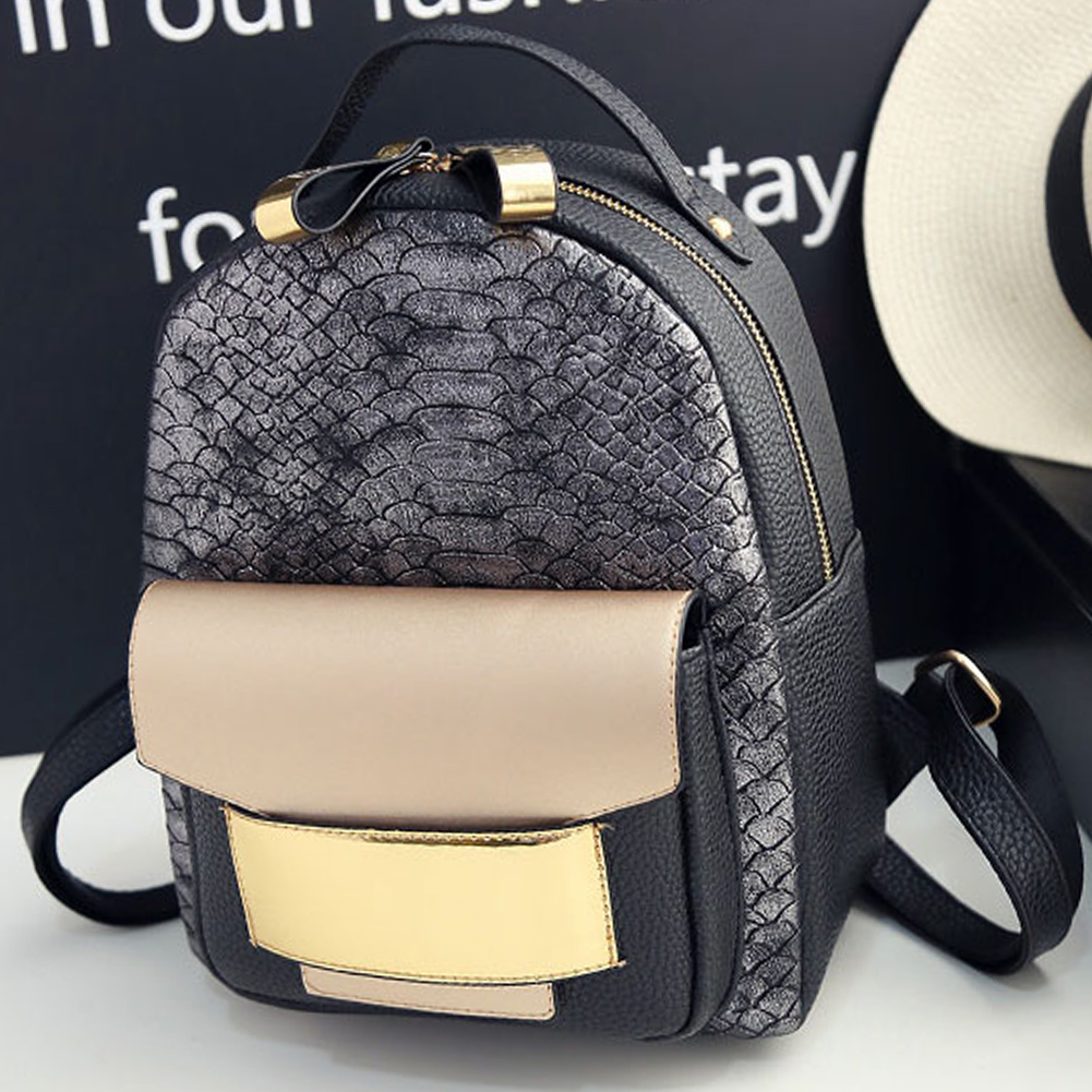 Fashion Women Girls Backpacks Mini Travel Rucksack Handbags School Bag Satchel