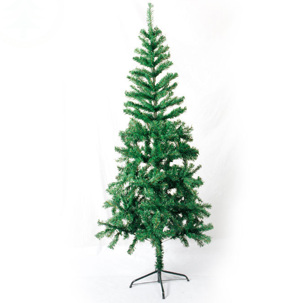 Christmas-Xmas-Tree-Hausen-Traditional-Indoor-Artificial-Decor-Tree-White-Green