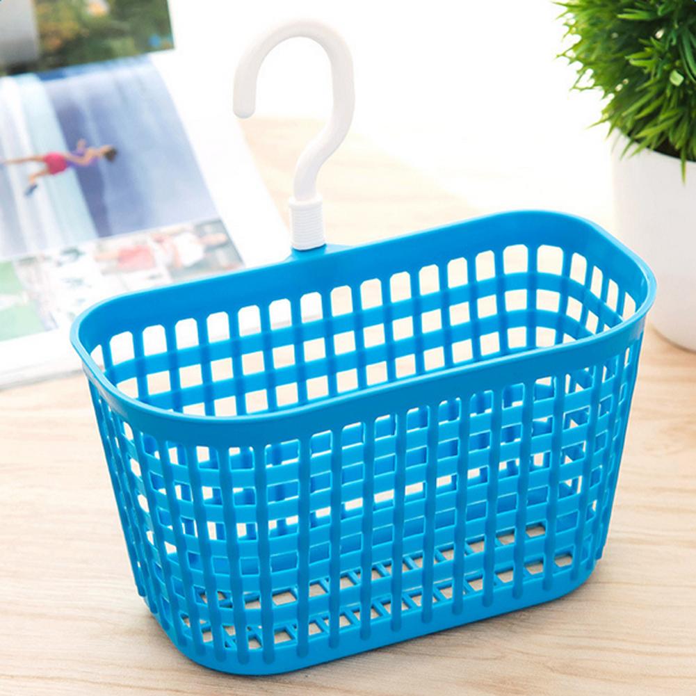 Plastic Hanging  Storage Baskets Bathroom Kitchen Study Home Office