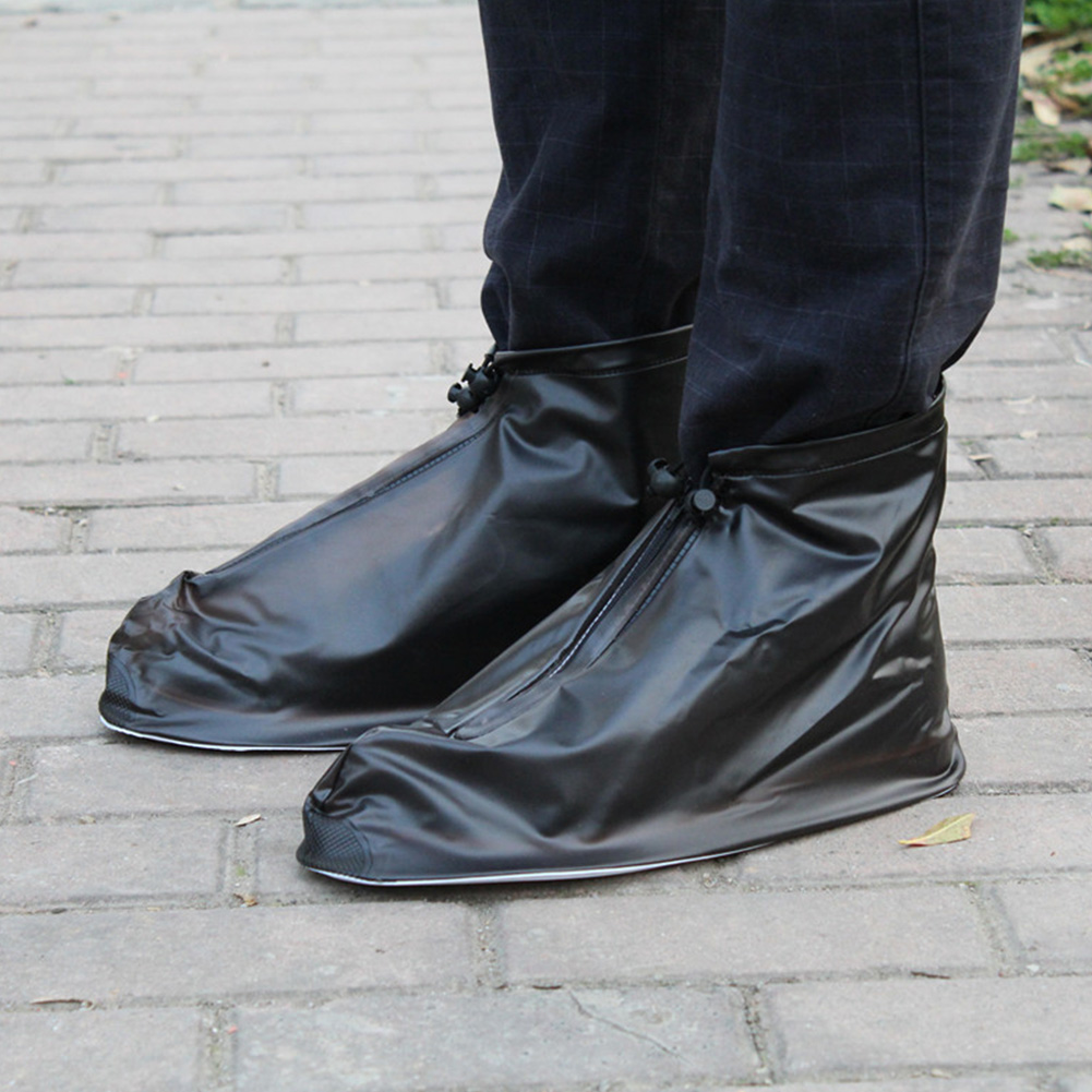 Unisex-Waterproof-Protector-Shoes-Boot-Cover-Rain-Shoe-Covers-High-Top-Anti-Slip